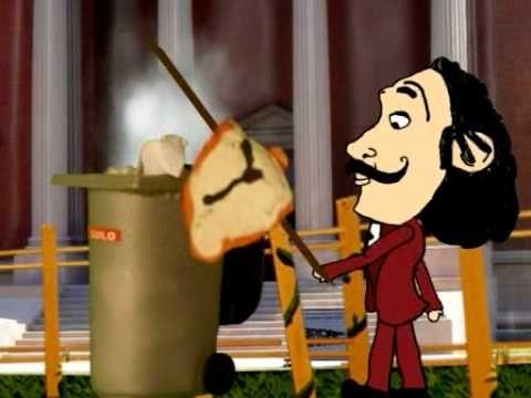 Vídeo sobre Dalí per utilitzar a l'aula