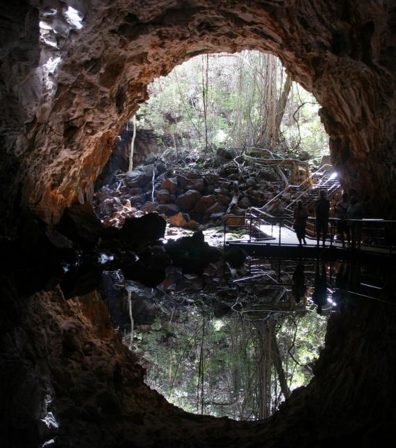 Undara Lava Tubes in Australia