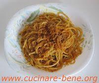 spaghetti alici e finocchietto