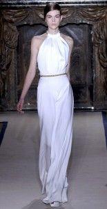 Yves Saint Laurant, Minimal Wedding dress, 2011