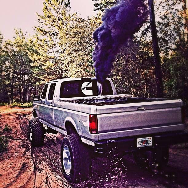 Cummins in a Ford Roll Coal. Fummins the best of both.