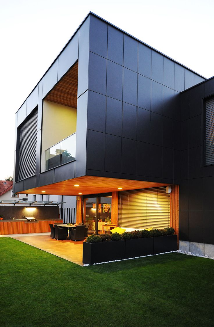 Best Alucobond Images On Pinterest Facades Architecture And - A beautiful villa in ljubljana every minimalist will love