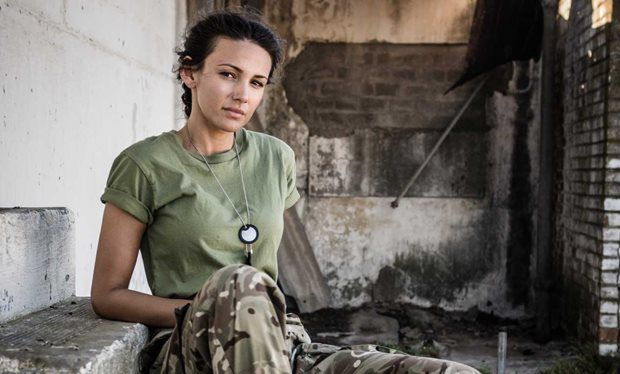 First look at Michelle Keegan in series 2 of BBC1 army drama Our Girl