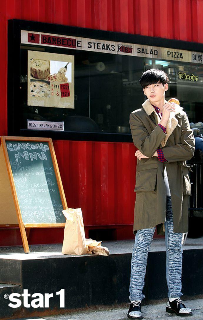 Lee Jong Suk - @ Star1 Magazine November Issue '13