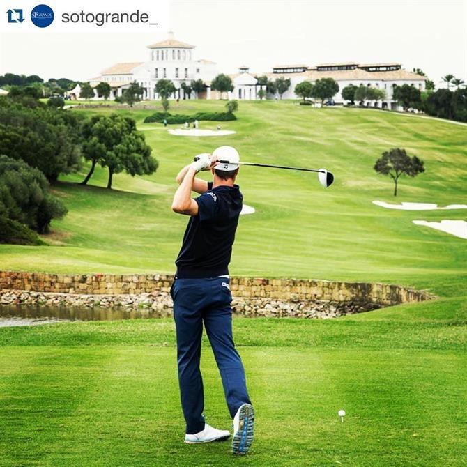 Real Club de Valderrama, club de Golf - Andalousie (Espagne)