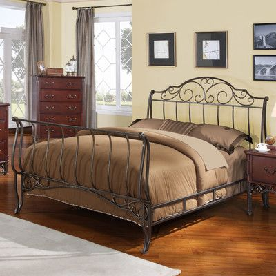 FREE SHIPPING! Shop Wayfair for Kingstown Home Tristin Sleigh Bed - Great Deals on all Furniture products with the best selection to choose from!
