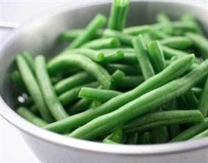 Green beans are a nutritious vegetable that are rich in vitamins, minerals, and phytonutrients such as vitamins A & C, calcium, iron, manganese, beta-carotene, and protein. Green beans provide signifiant cardiovascular benefits due to their omega-3 (alpha-linolenic acid) content.