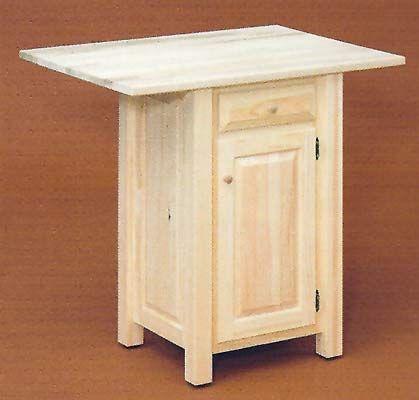 Unfinished Pine Furniture for Dinning Room