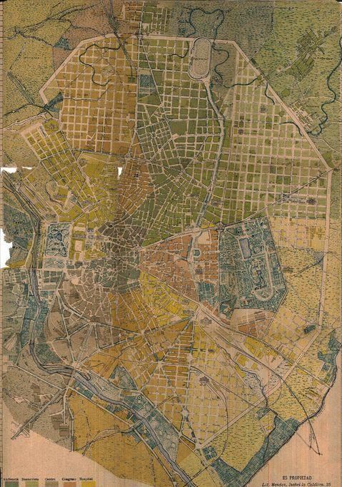 Plano de Madrid de 1902 - Madrid