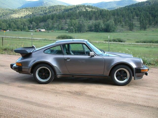 porsche 911 sc turbo look charcoal grey 1981 my style. Black Bedroom Furniture Sets. Home Design Ideas