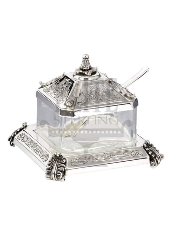 Bagatel #Neoclassic #Silver #Honey and #Sugar #Dish ( #Hazorfim )