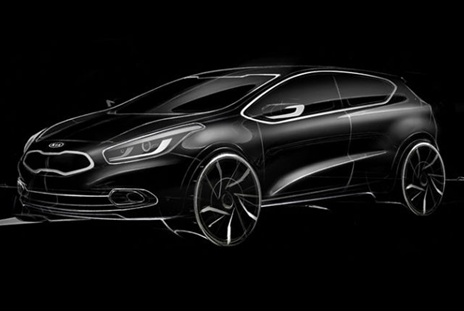 This allegedly-leaked image could be the new three-door #Kia Cee'd, according to online reports.