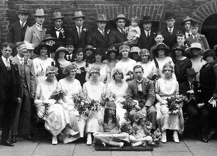 17 Best Images About 1920s Weddings On Pinterest