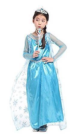 Princess Elsa Dress-Up Costume Set