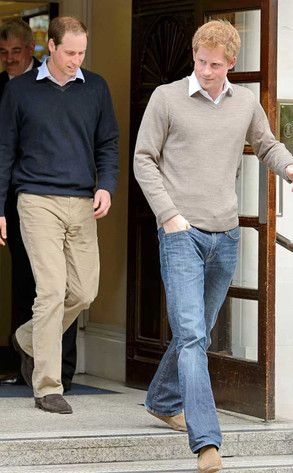 Prince Harry & Prince William - new breed of Royals.  William seems to have learned a lot by watching his Grandmother.  Harry works hard, plays hard.  They have become men their mother would be very proud of.