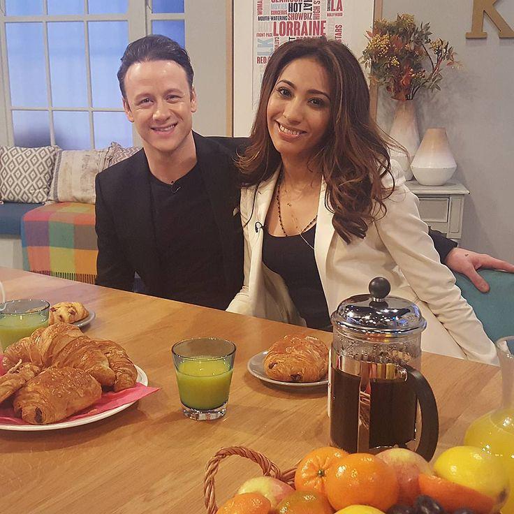 Strictly's Kevin and Karen hit the road!  | Showbiz News  & Gossip | Lorraine