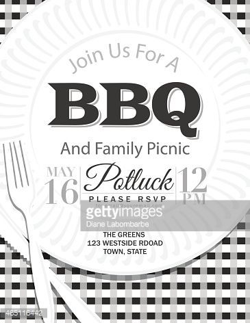9 best family bbq images on Pinterest Invitation templates - bbq invitation template