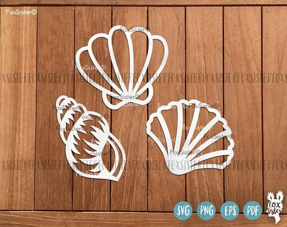 Shells SVG Bundle!! 35 Seashells svg, Beach svg, Ocean Cut File |Shell Papercut Template | Silhouette | Cricut | cut files | Home Decor For personal and commercial use. The designs can be cut from different materials: paper, regular and heat transfer vinyl, stencil material etc. Just download the files you like and cut them using your cutting machine. You can use the designs for DIY projects, heat transfer designs on t-shirts and bags, create your own gift packaging, decorate notebook…