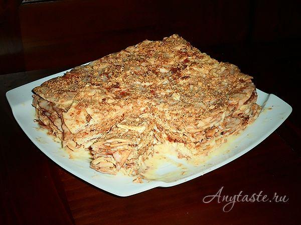 Самый лучший рецепт торт наполеон, медовый