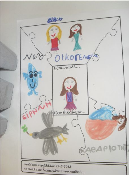 """Συνεχίζοντας το καινοτόμο πρόγραμμα :""""Δικαιώματα του παιδιού και διαφορετικότητα"""", βασιστήκαμε στο υπέροχο βιβλίο της Κατερίνας Τζαβάρα:..."""