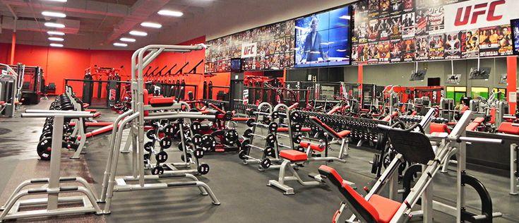 Ufc Gym Installations By Supreme Audio Ufc Gym Installation