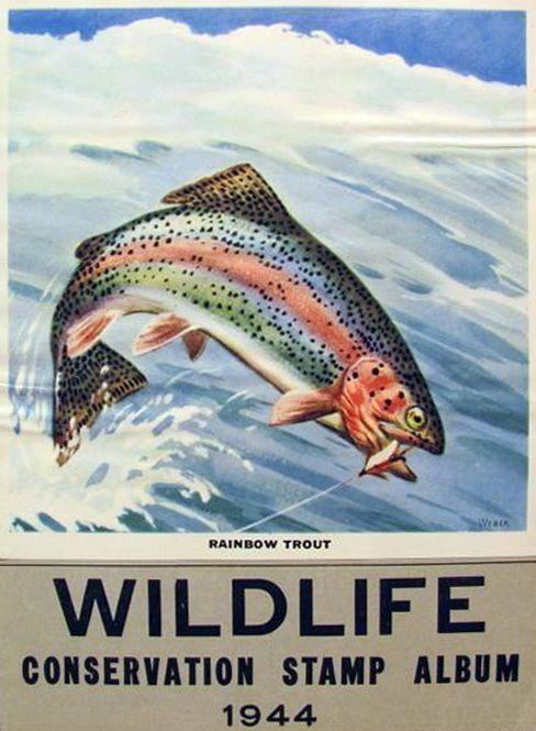 Wildlife Conservation Stamp Album 1944