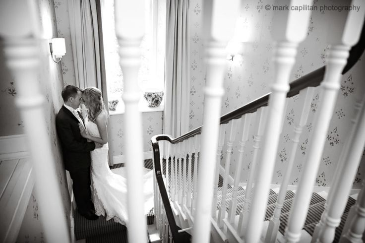 Bride & groom indoors Castle Dargan Ireland wedding photographer Sligo