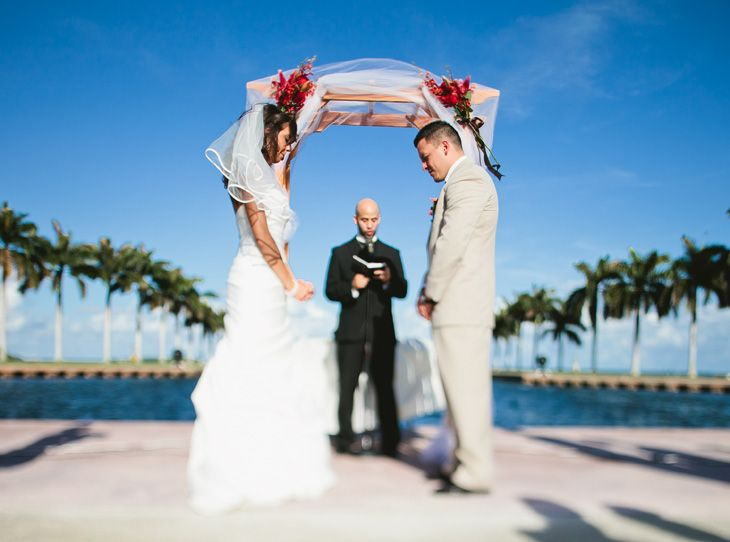 Front Lawn Ceremony At The Deering Estate Wedding CeremoniesWedding VenuesSouth