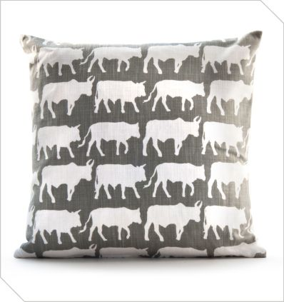 Shop South African Design | Transkei Cows Cushion | Meekel