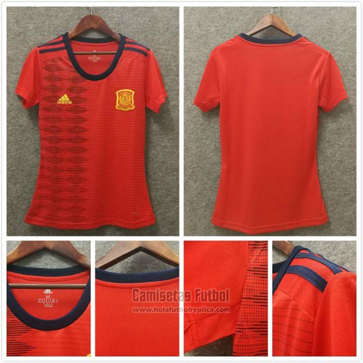 Camiseta Espana Primera Mujer 2019 - Copa Mundial Femenino 2