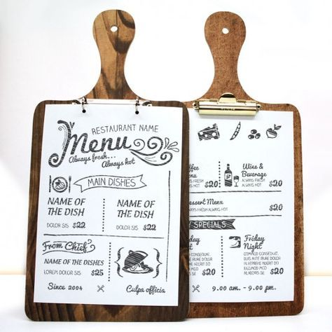 The 25+ best Menu covers ideas on Pinterest Menu design, Cafe - cafe menu templates free download