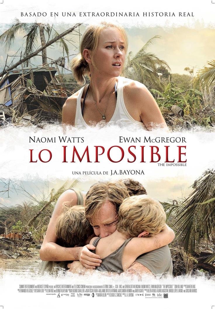 'Lo imposible' dirigida por Juan Antonio Bayona.