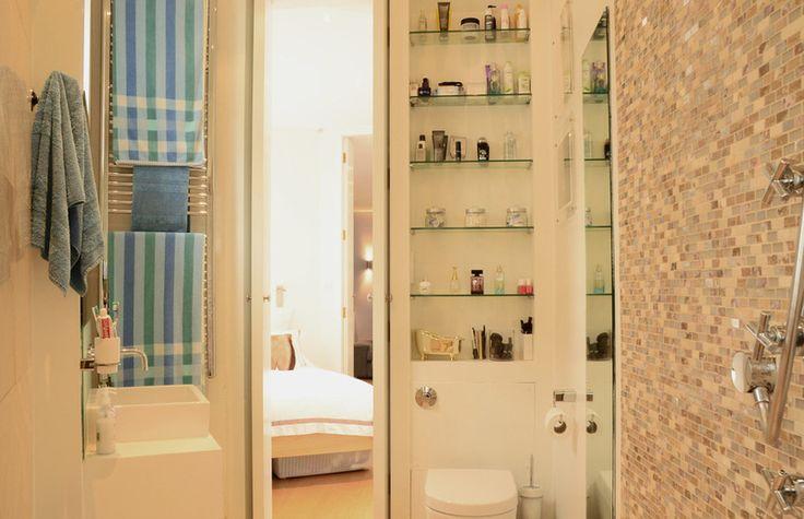 eclectic bathroom by Lauren Bryan Knight