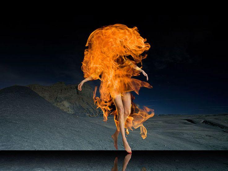Ryszard Horowitz Photocomposer - Digital Portfolio Flaming Creature '12