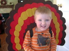 turkey costume for preschoolers - Google Search