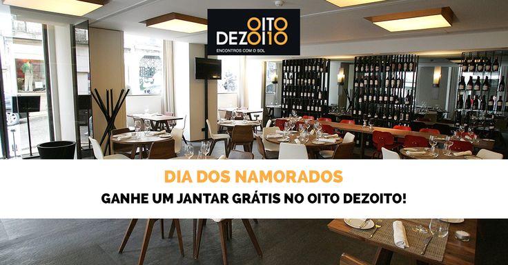 Surpreenda a sua cara metade com um jantar romântico No Oito Dezoito, um dos melhores restaurantes do País. Participe!