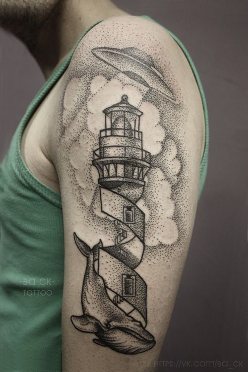 And a very aesthetic tattoo by Ba_Ck.