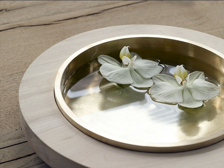 Another bowl from Vincent van Duysen's Primitive collection for When Objects Work. BEautiful combination of wood and brass.
