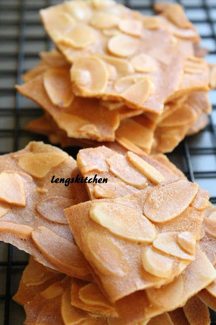 Kitchen Chaos: Almond Thins 杏仁片脆饼 - Chinese New Year Series