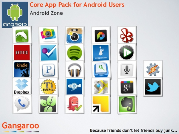 Core apps for every Android phone user