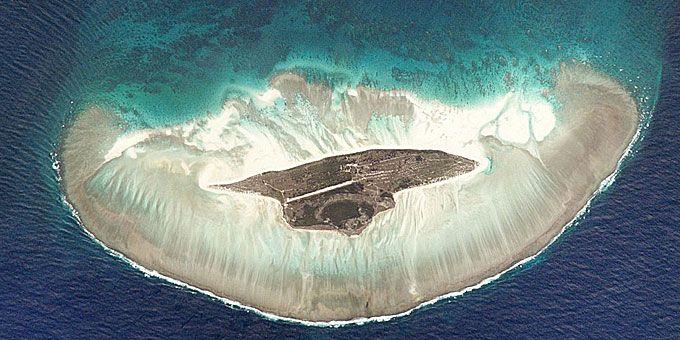Η απίστευτη ομορφιά της Γης… από ψηλά! Το νησί Juan de Nova στο κανάλι της Μοζαμβίκης