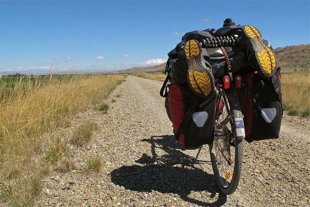 Darren Sinn Riding the Otago Trail in New Zealand #KEENrecess #bikingabout