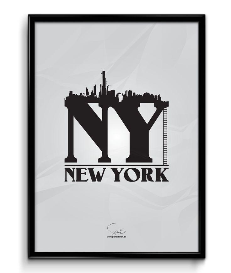 NEW YORK - NY  ( A2 42x59,40 Cm )