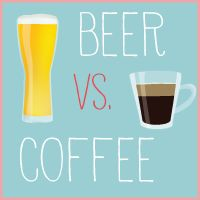 both please! (greedy? moi?) | Your brain on BEER vs. COFFEE - I Love Coffee