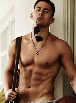 channing tatum. if you didn't know who this was, you have clearly