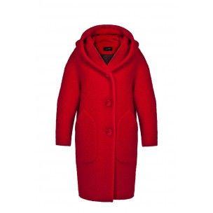 Sublimissime manteau Cop Copine modèle VERDANA neuf et étiqueté - collection automne/hiver 2014-2015 dispo en écru, noir ou rouge en tailles 36, 38, 40