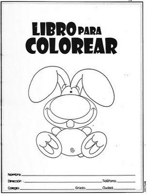Educación Preescolar: LIBRO PARA COLOREAR
