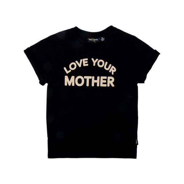 Love Your Mother Short Sleeve T-Shirt Black