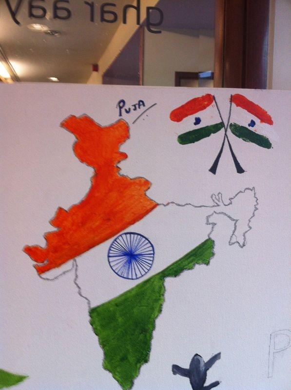 United India #IndependenceDayFeviArtWay