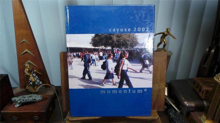 2002 Walnut High School Walnut California Original Yearbook Annual The Cayuse